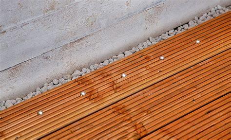 Led Beleuchtung Terrasse by Holzterrasse Beleuchtung Holzterrasse Selbst De