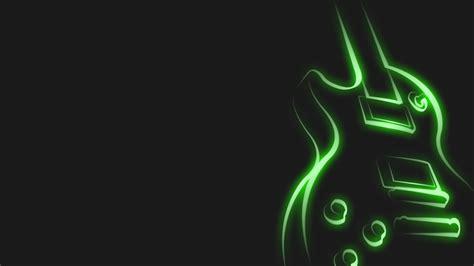 wallpaper green guitar neon guitar green hd by meerk4tftw on deviantart
