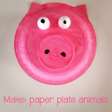 How To Make A Phlet Out Of Paper - paper plate pig archives mumturnedmom