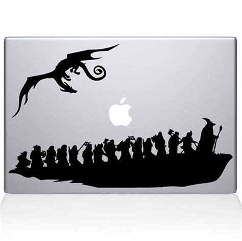 Diskon Decal Macbook Dan Laptop the hobbit macbook decal by stikrz on etsy 9 98 dan me want i fancy that