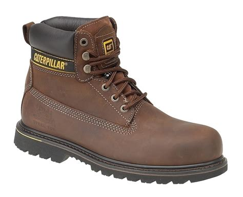 Sepatu Boots Safety Caterpilar Kansas Steel Toe Black 1 cat holton sb safety boots holtonsb mammothworkwear
