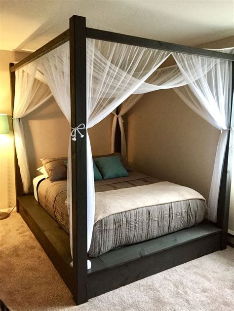 homemade canopy bed best 25 canopy bed curtains ideas on pinterest bed