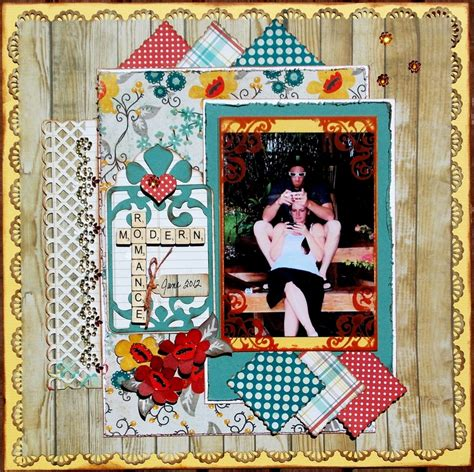 creative and romantic scrapbooking ideas modern romance my creative sketches scrapbook com