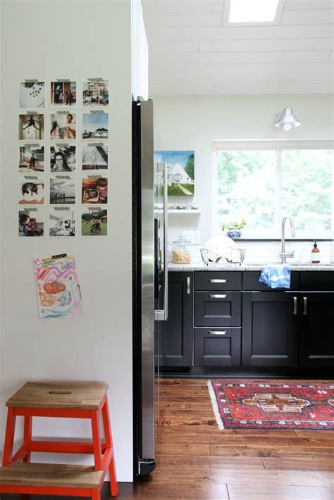 Kulkas Kecil Yang Baru bosan dengan dekorasi ruang usik sedikit area kulkas