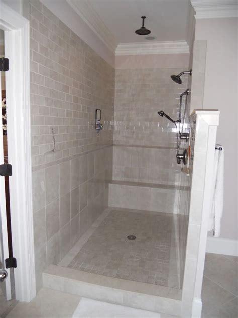 Bathroom Shower Door Ideas by Best 25 Shower No Doors Ideas On Pinterest Open Small