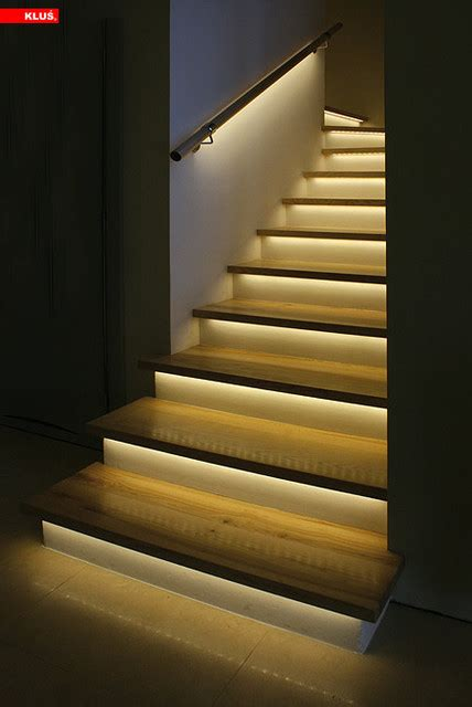 stair lighting led led staircase accent lighting contemporary staircase