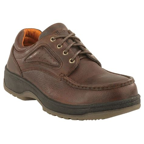 work oxford shoes s chippewa boots waterproof oxford work shoes brown