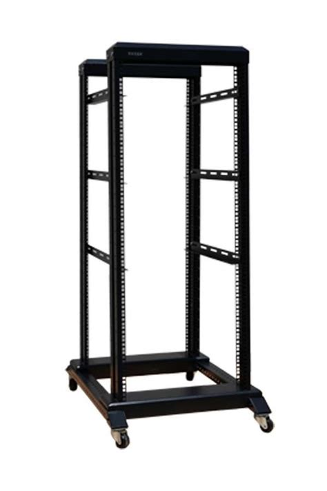 27u 4 post open frame data server rack 19 quot 1000mm