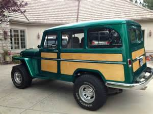 Jeep Station Wagon 1955 Jeep Willys Station Wagon 4wd Restored And Customized