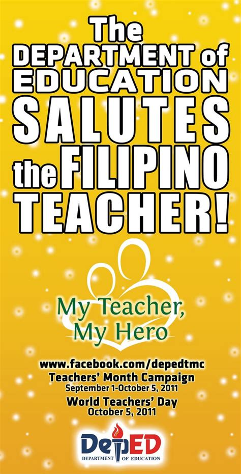 education theme slogan my teacher my hero theme slogan just b cause