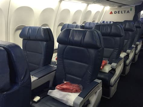 delta upgrade from economy comfort to business class my amex credit card conundrum one mile at a time