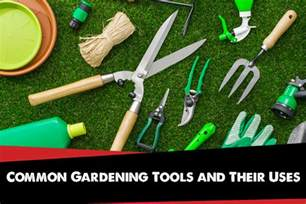 common gardening tools and their uses big r