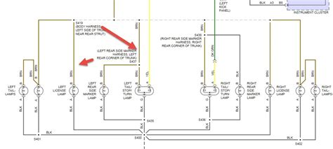 buick lesabe custom wiring diagram  taillights
