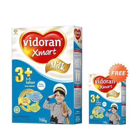 Formula Vidoran Jual Buy 1 Get 1 Vidoran Xmart 3 Vanilla Formula