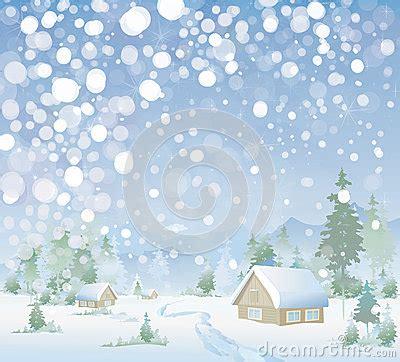 Fensterdeko Weihnachten Stock by Vektor Der Winterlandschaft Frohe Weihnachten