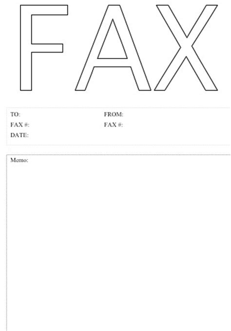 fax form template printable fax cover sheet template top form templates