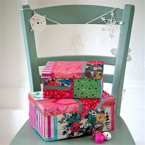 Decoupage Box Ideas - decoupage present boxes ideas