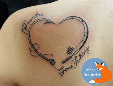 gone fishing tattoo nikkifirestarter mn artists