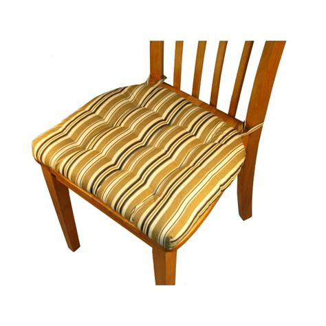 Dining Chair Pads With Ties Dining Chair Pads With Ties Mag Ticking Dining Chair Pad With Ties Reversible Dining Chair