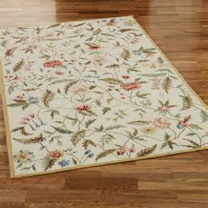 springtime views area rugs