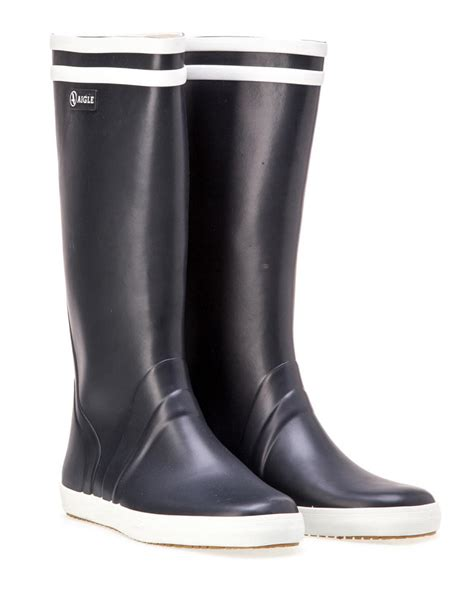 sailing boots aigle goeland sailing boot navy town country