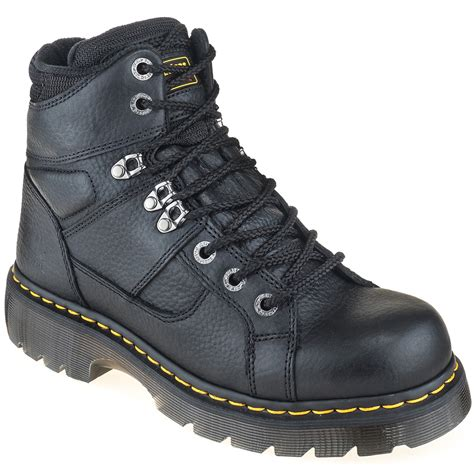 doc martens work boots doc martens boots s industrial r12722001 grizzly work