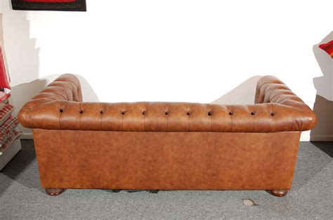1960 S Leather Chesterfield Sofa In Distressed Leather At Distressed Leather Chesterfield Sofa