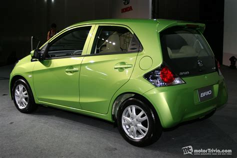 honda brio thailand price all new honda brio eco car makes world premiere debut in