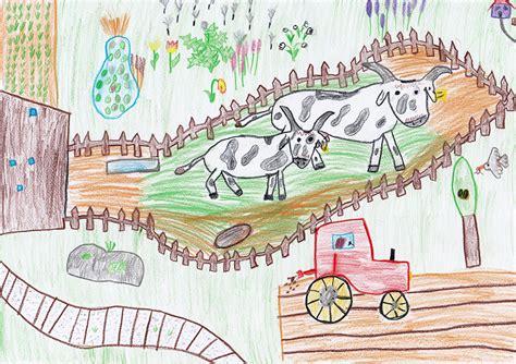 Scheune Gezeichnet by Zeichnungen Vom Bauernhof