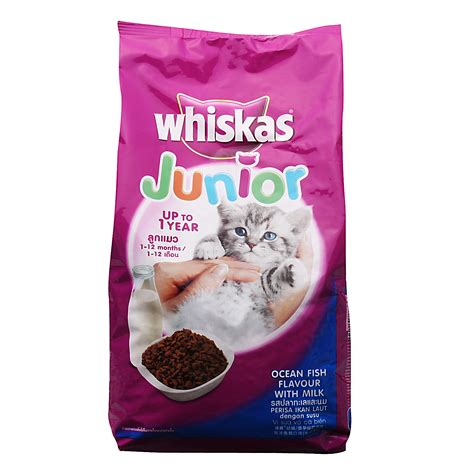 Makanan Kucing Whiskas Junior Fish Flavor With Milk 450 G review makanan kucing whiskas junior kitten radiokucing