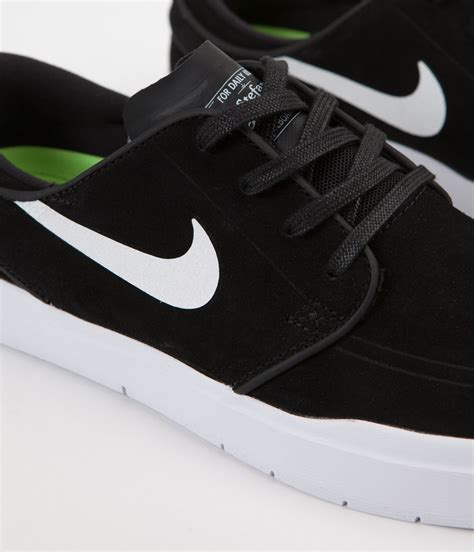 nike sb stefan janoski hyperfeel shoes black white
