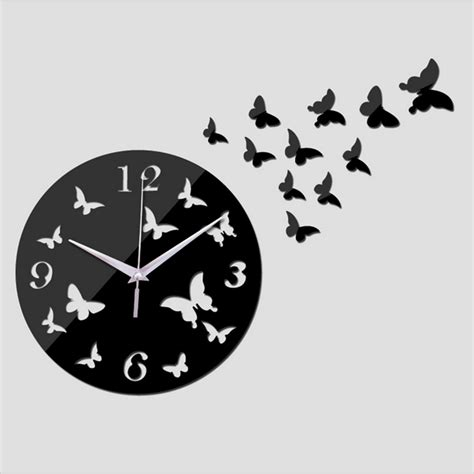 cool wall clock promotion online shopping for promotional 2017 new 3d wall clock diy clocks reloj de pared quartz