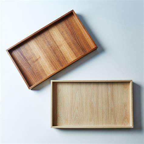 Handmade Trays - handmade wood brass tray on food52