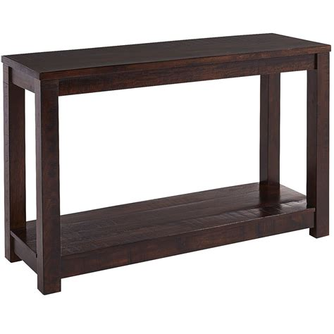 parsons sofa table parsons tobacco brown console table costa rican furniture