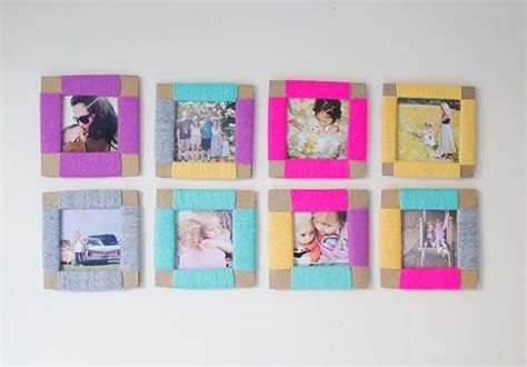 diy projects with picture frames 12 diy picture frame projects picky stitch