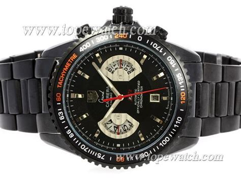 Tag Heuer Calibre 17 Black tag heuer grand calibre 17 rs2 automatic pvd with black replicacarrera watches