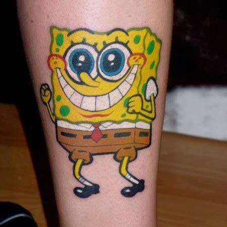 spongebob tattoos spongebob tattoos designs ideas and meaning tattoos for you