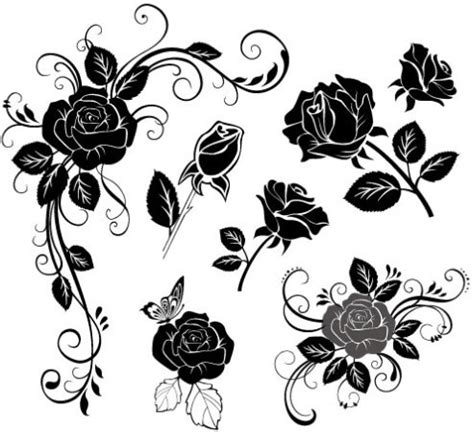 hand draw flower vector free vector in coreldraw cdr