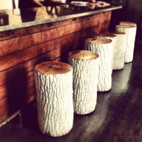 Tree Stump Bar Stools by White Tree Stump Bar Stools Always Be Doing