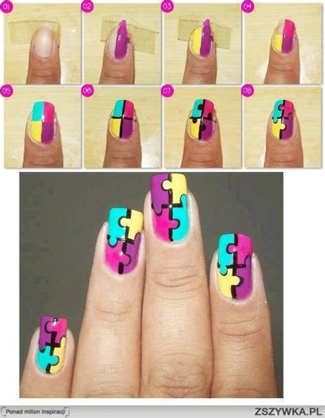 Nail Tutorials by Simple Nail Tutorial Step By Step Style Arena