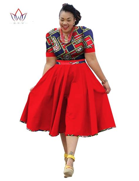 fashionable african dresses and suites plus size clothing 2017 spring dress african print dress