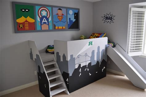 cool boys bunk beds bedroom room decor ideas diy bunk beds with desk bunk