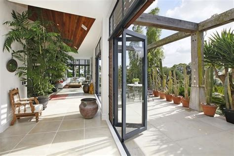 indoor outdoor living sotheby s auckland house indoor outdoor living through