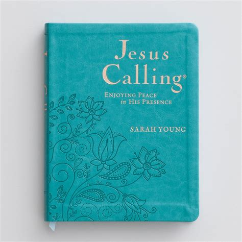 jesus calling 50 devotions for peace books deluxe edition of jesus calling by dayspring