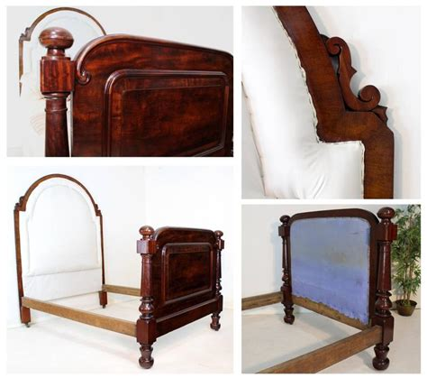 Scottish Victorian Mahogany Double Bed For Sale At 1stdibs Bedroom Furniture Scotland