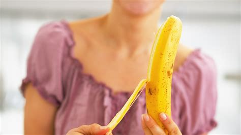 can eat banana should you be banana peels the science is slippery today