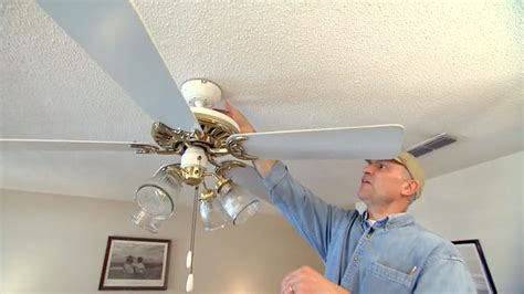 how to fix an out of balance paddle ceiling fan today s - How To Fix A Ceiling Fan