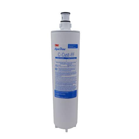 aqua sink water filter c cyst ff 3m aqua undersink water filter