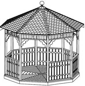 Octagon Gazebo Plans by Custom Gazebo Plans 12ft Octagon Gazebo Blueprints Ssp