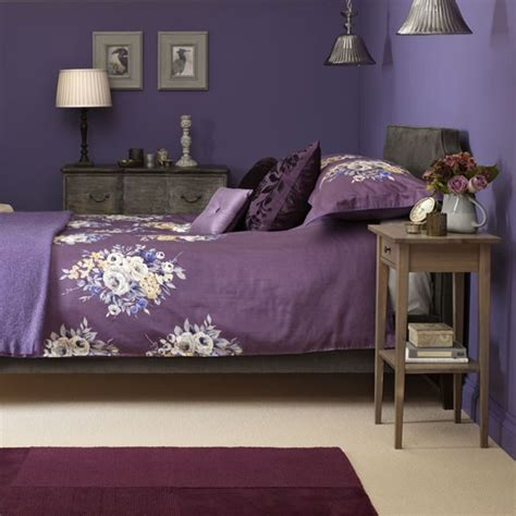 instant bedroom welcoming guest bedroom in purple tones instant design